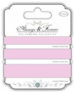 Satin Ribbon - Always & Forever - The Wedding Collection - Rose 3m of each size - 10mm,15mm & 20mm